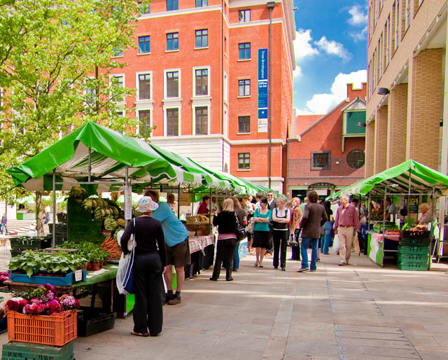 Brindleyplace Local Produce Market