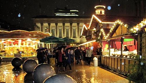 Frankfurt Chrstmas Market Opened Tonight