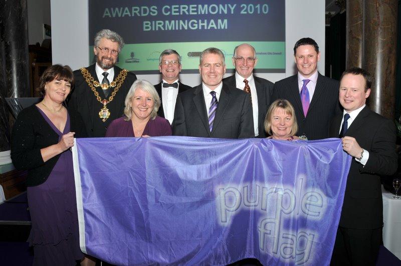 Birmingham's Purple Flag Award