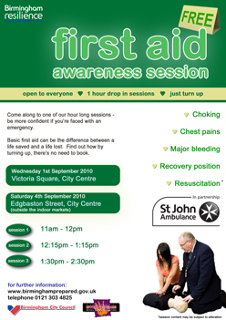 Book st john first aid course