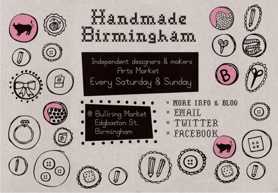 Handmade Birmingham Market's website