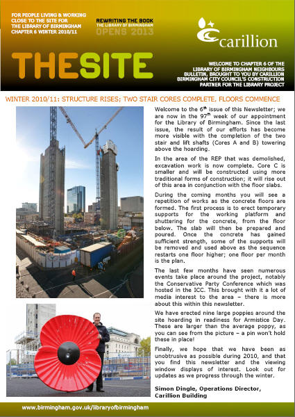 The Site winter edition