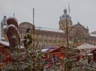 Birmingham Frankfurt Market stalls