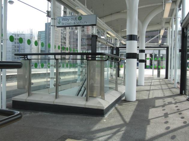 Exit at platform level