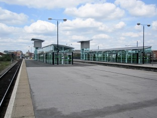 Two exits on platforms
