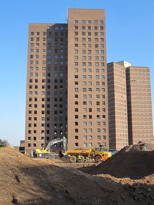 Before - Lawrence and Dalton Towers