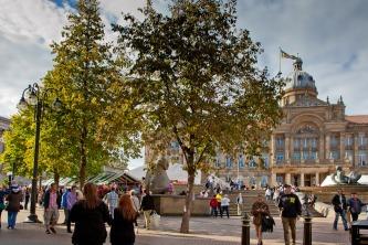 Victoria Square stalls