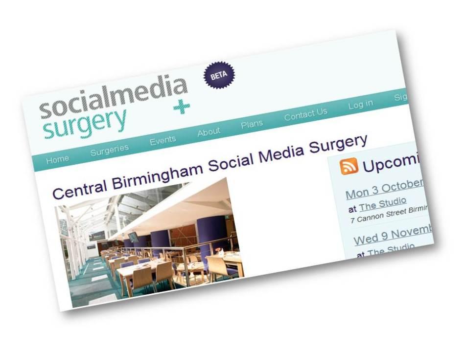 Social Media Surgeries site