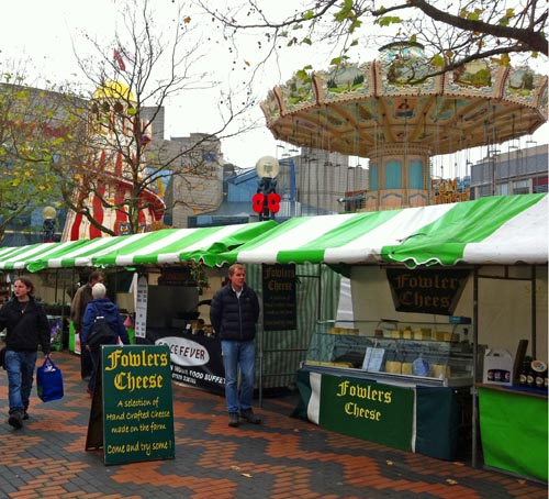Farmers Market in Centenary Square