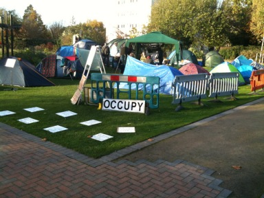 Occupy Birmingham Protesters