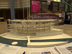 NIA Refurbishment Exhibition in ICC Atrium