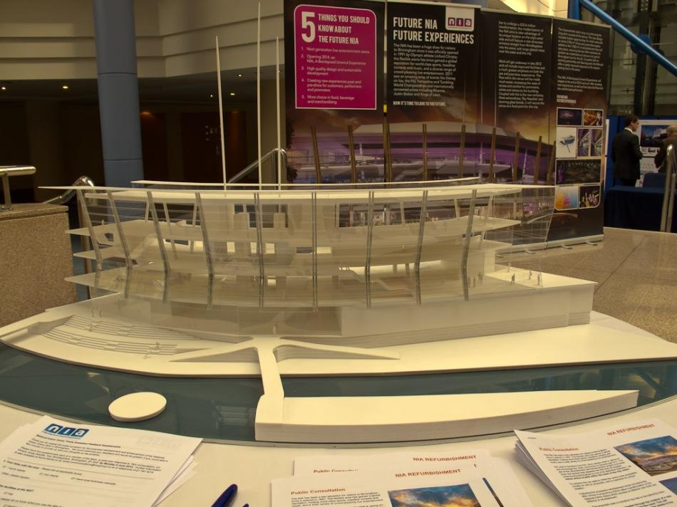 NIA Refurbishment Exhibition in ICC Atrium