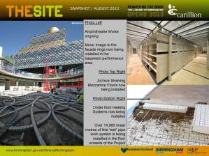 The Site Snapshot August 2012