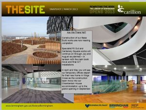 The Site Snapshot March 2013
