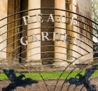 Peace Garden - the sign to look for in Bath Row.