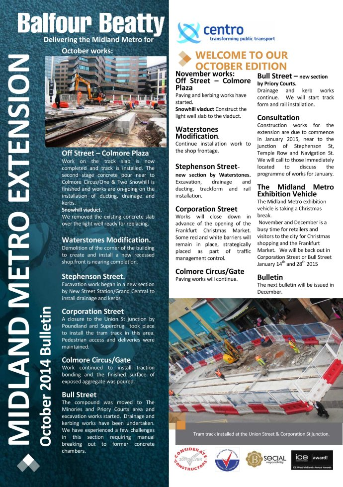 Metro Balfour Beatty October 2014 Bulletin-1