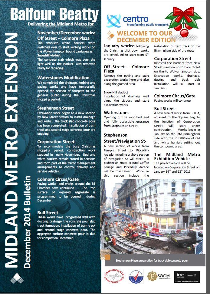 Metro Balfour Beatty December 2014 Bulletin-1