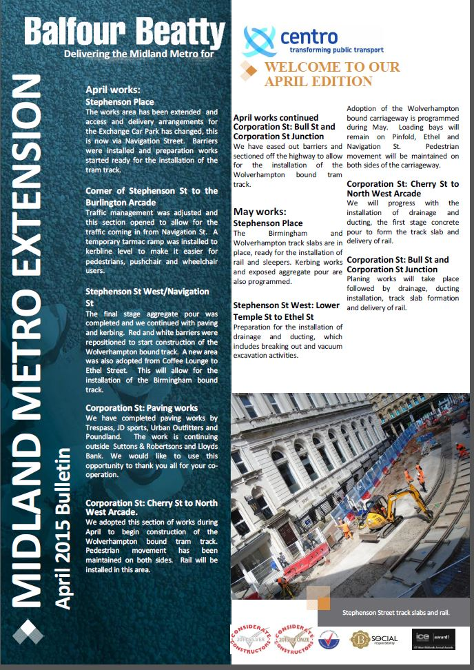 Metro Balfour Beatty April 2015 Bulletin-1