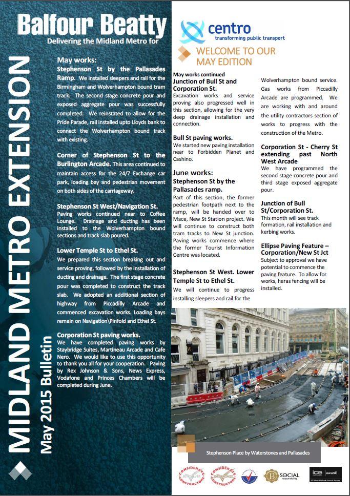 Metro Balfour Beatty May 2015 Bulletin-1