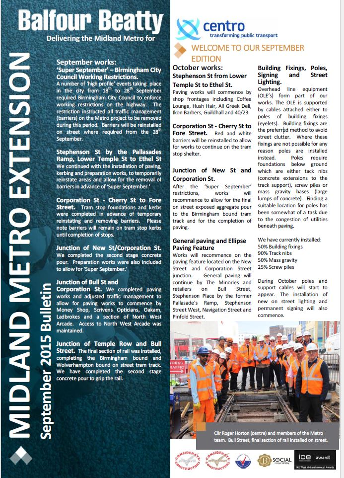 Metro Balfour Beatty September 2015 Bulletin-1