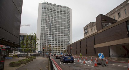 View along Paradise Street to its junction with the new carriageway and Suffolk Street...