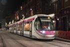 Tram in Corporation St trials 23- 24 April 2016